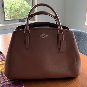 Coach satchel handbag. Like new!